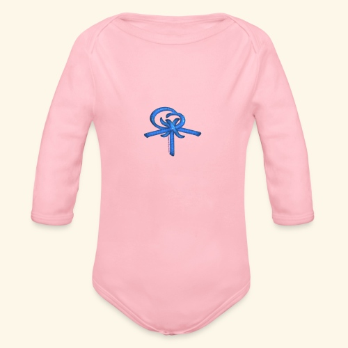Back LOGO LOB - Organic Long Sleeve Baby Bodysuit