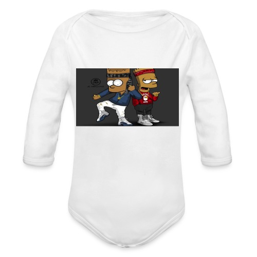 Sweatshirt - Organic Long Sleeve Baby Bodysuit
