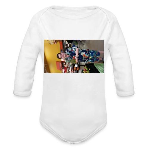 Pineapple Al - Organic Long Sleeve Baby Bodysuit
