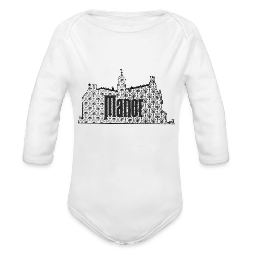 Mind Your Manors - Organic Long Sleeve Baby Bodysuit