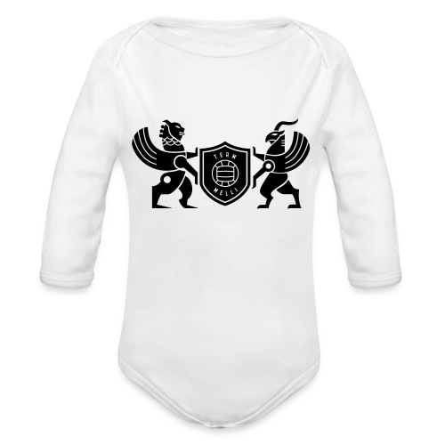 Iran lion & griffin - Organic Long Sleeve Baby Bodysuit