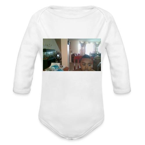 WIN 20160225 08 10 32 Pro - Organic Long Sleeve Baby Bodysuit
