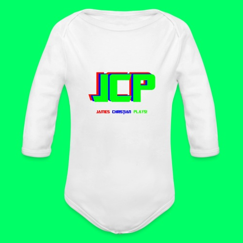 James Christian Plays! Original Set - Organic Long Sleeve Baby Bodysuit