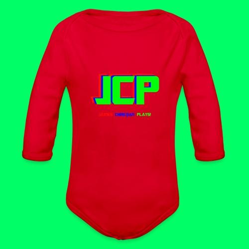 James Christian Plays! Original Set - Organic Long Sleeve Baby Bodysuit