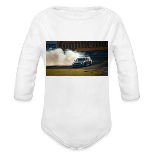 nissan skyline gtr drift r34 96268 1280x720 - Organic Long Sleeve Baby Bodysuit