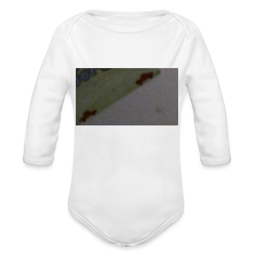 1523960171640524508987 - Organic Long Sleeve Baby Bodysuit