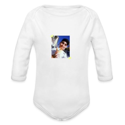 WITH PIC - Organic Long Sleeve Baby Bodysuit