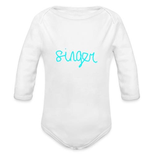 SINGER - Organic Long Sleeve Baby Bodysuit