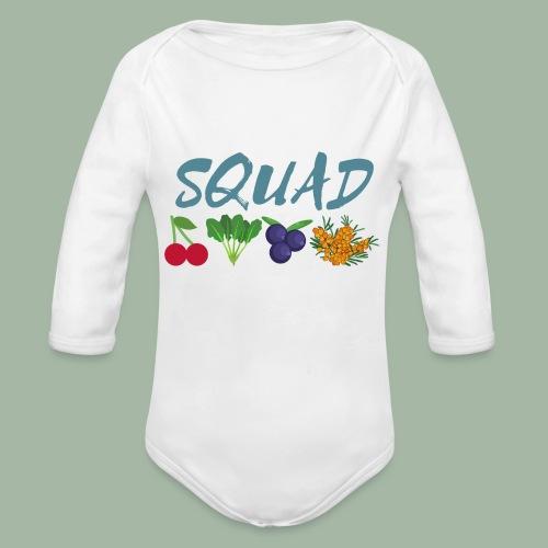 SQUAD - Organic Long Sleeve Baby Bodysuit