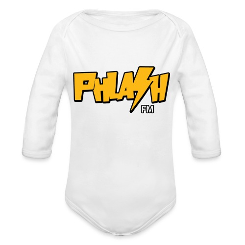PHLASH fm - Organic Long Sleeve Baby Bodysuit