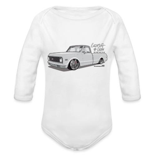 Long & Low C10 - Organic Long Sleeve Baby Bodysuit