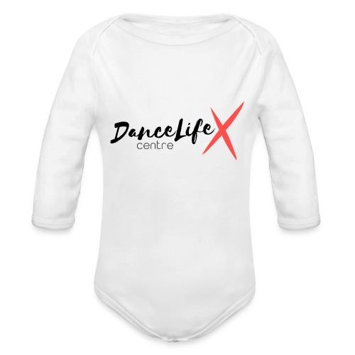 DL-Logo-Master - Organic Long Sleeve Baby Bodysuit
