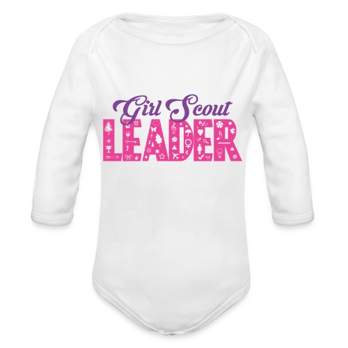 Girl Scout Leader - Organic Long Sleeve Baby Bodysuit