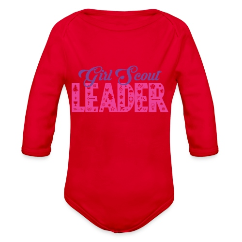Girl Scout Leader - Organic Long Sleeve Baby Bodysuit