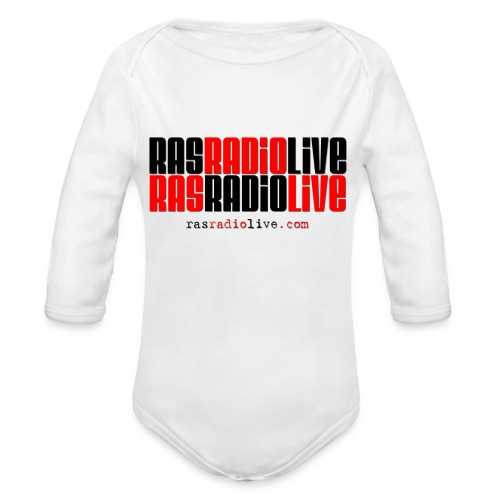 rasradiolive png - Organic Long Sleeve Baby Bodysuit