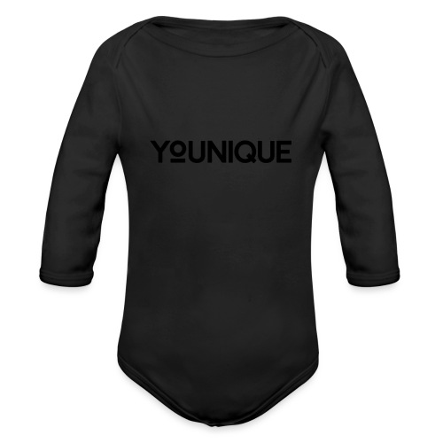 Uniquely You - Organic Long Sleeve Baby Bodysuit