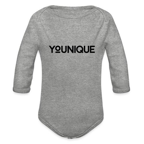 Uniquely You - Organic Long Sleeve Baby Bodysuit