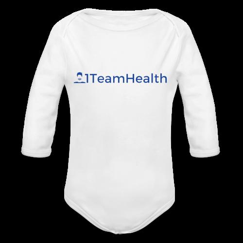 1TeamHealth Simple - Organic Long Sleeve Baby Bodysuit