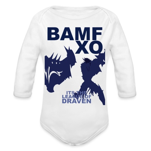 DRAV copy png - Organic Long Sleeve Baby Bodysuit