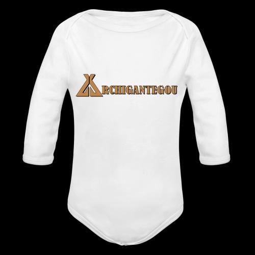 Archigantegou - Organic Long Sleeve Baby Bodysuit