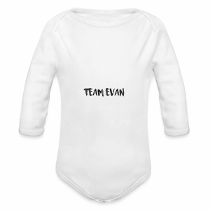 TEAM EVAN - Long Sleeve Baby Bodysuit