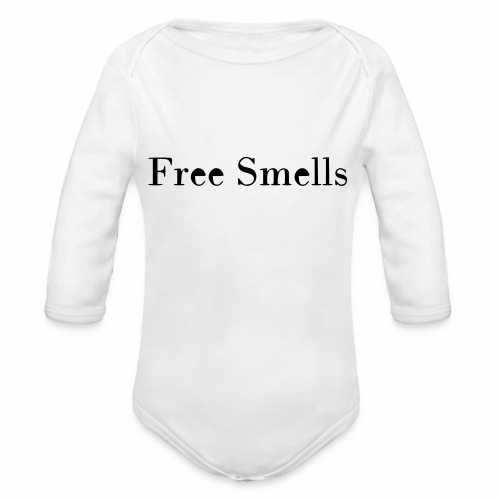 Free Smells - Organic Long Sleeve Baby Bodysuit