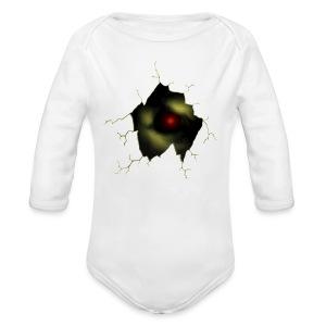 Broken Egg Dragon Eye - Long Sleeve Baby Bodysuit