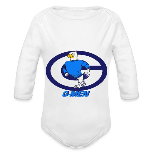 GHOSTB - Organic Long Sleeve Baby Bodysuit
