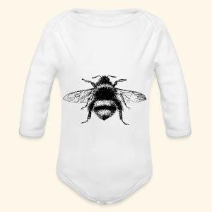 My Little Baby Bee - Long Sleeve Baby Bodysuit