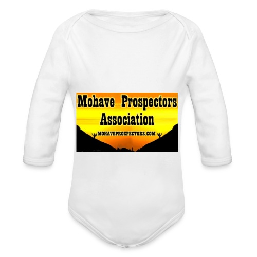 MPA Nametag - Organic Long Sleeve Baby Bodysuit