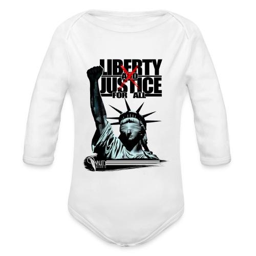 LxJ - Organic Long Sleeve Baby Bodysuit