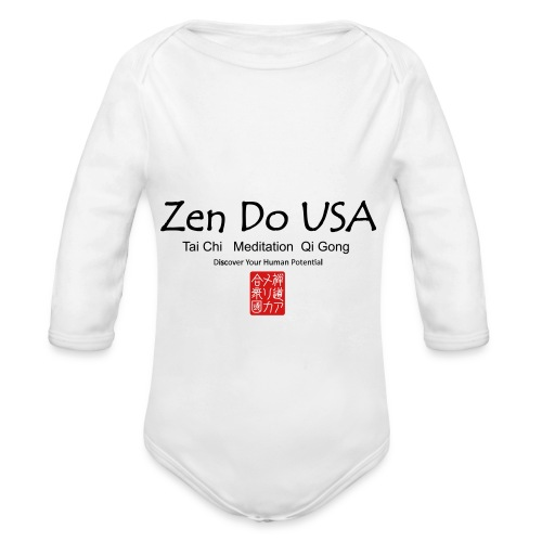 Zen Do USA - Organic Long Sleeve Baby Bodysuit