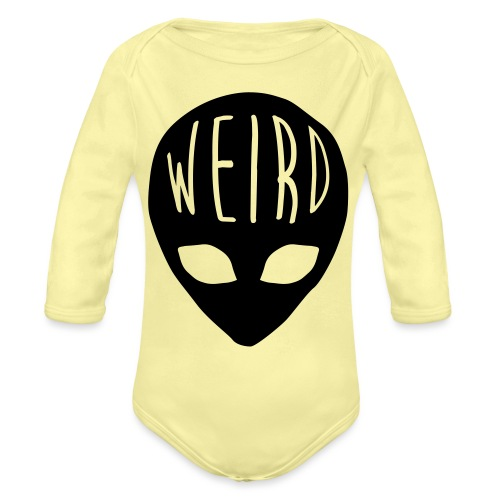 Out Of This World - Organic Long Sleeve Baby Bodysuit