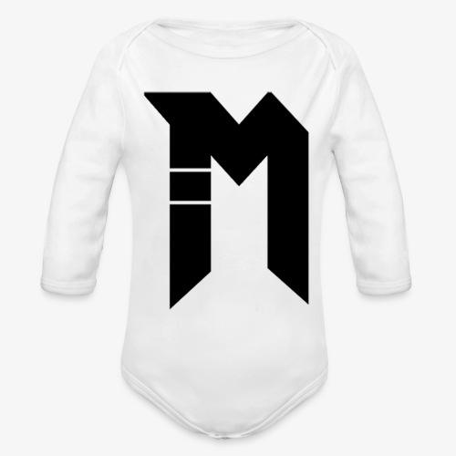 Bestsellers Logo only - Organic Long Sleeve Baby Bodysuit