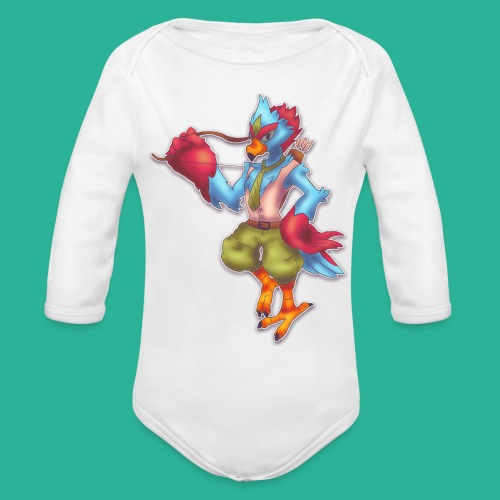 Tronis - Organic Long Sleeve Baby Bodysuit