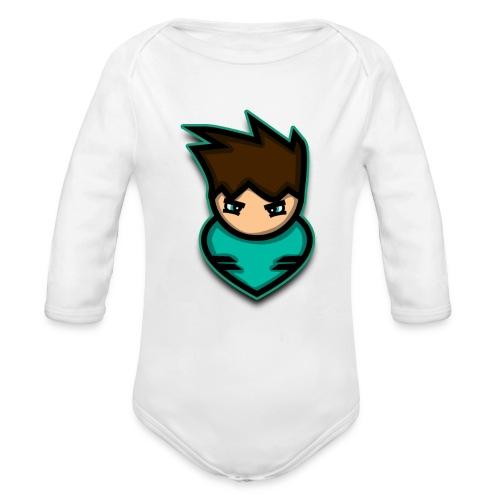 warrior - Organic Long Sleeve Baby Bodysuit