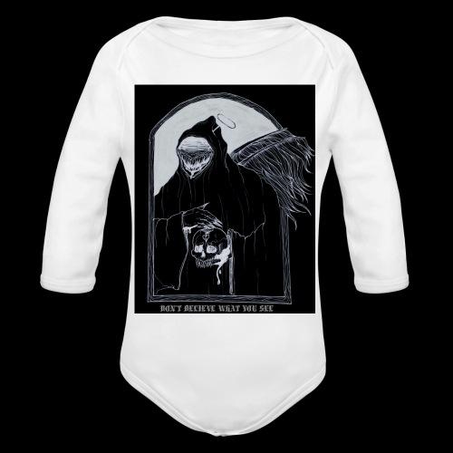 Deceiver - Organic Long Sleeve Baby Bodysuit