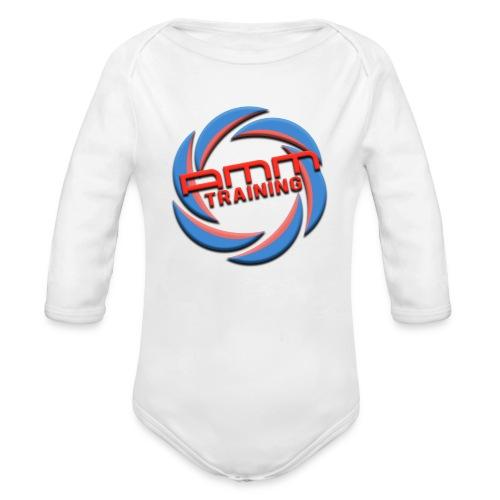 AMMT LOGO WEB - Organic Long Sleeve Baby Bodysuit
