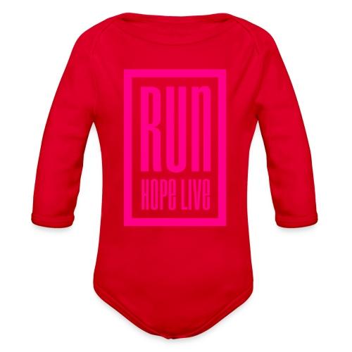 logo transparent background png - Organic Long Sleeve Baby Bodysuit