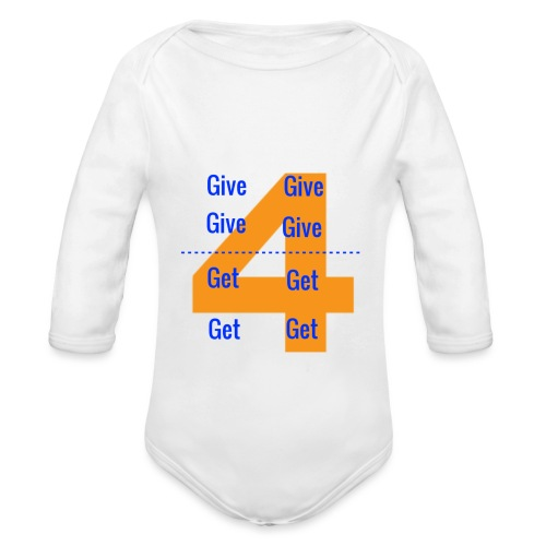 Forgive & Forget - Organic Long Sleeve Baby Bodysuit