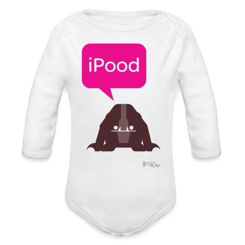 iPood - Organic Long Sleeve Baby Bodysuit