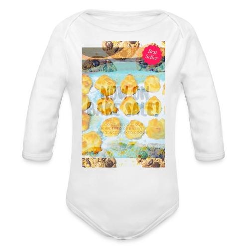 Best seller bake sale! - Organic Long Sleeve Baby Bodysuit