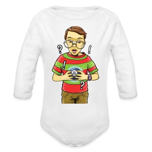 Waldo - Organic Long Sleeve Baby Bodysuit