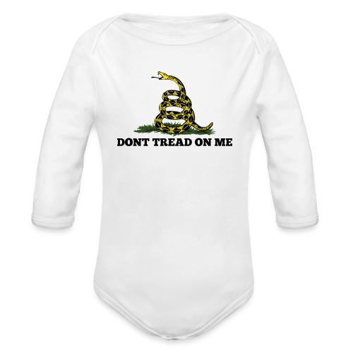 GADSDEN 1 COLOR - Organic Long Sleeve Baby Bodysuit