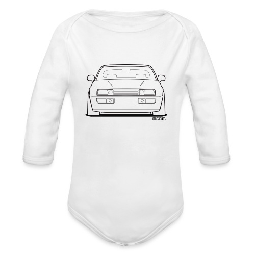 Wolfsburg Rado Outline - Organic Long Sleeve Baby Bodysuit