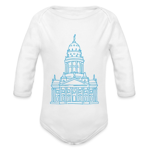 French Cathedral Berlin - Organic Long Sleeve Baby Bodysuit