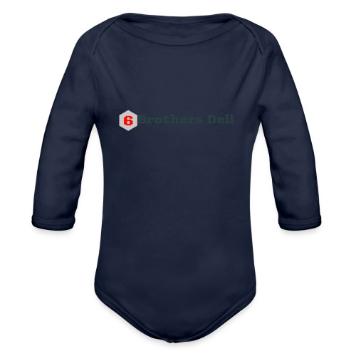6 Brothers Deli - Organic Long Sleeve Baby Bodysuit