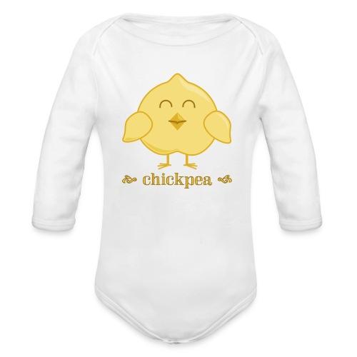 CHICKpea - Organic Long Sleeve Baby Bodysuit