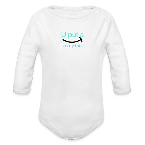 LogoMakr 6d8KaW - Organic Long Sleeve Baby Bodysuit
