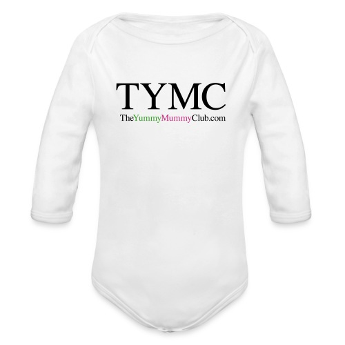 TYMC_LOGO - Organic Long Sleeve Baby Bodysuit